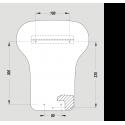 Kézszárító DXA-548CS